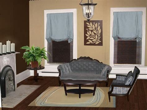 brown paint colors for living rooms brown living room color schemes your dream home