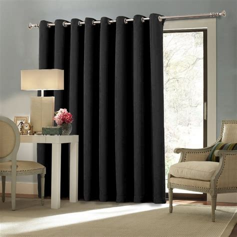 Curtains For Big Sliding Doors Door Treatments Installing Window Treatments For Sliding Doors