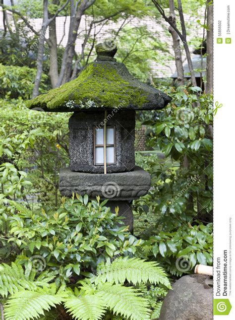 Moss Green Tea Rooms by Japanese Lantern In Tokyo Tea House Stock Photo Image