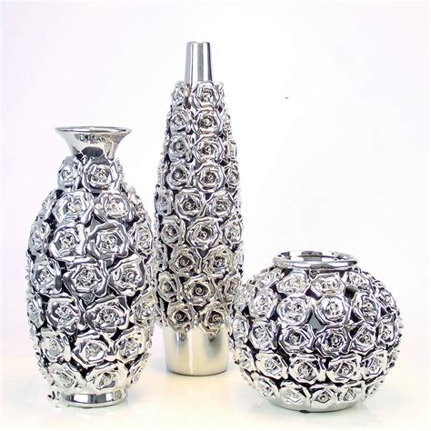 buy wholesale silver flower vases from china silver