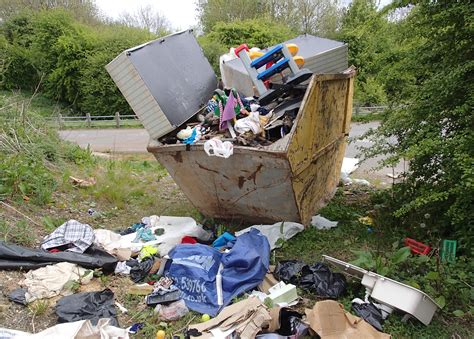 section 33 environmental protection act 1990 crackdown on flytipping in ashfield continues mansfield
