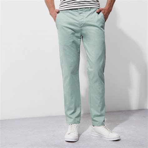 light green chino light green slim chino trousers trousers sale