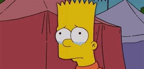 bart triste video as 237 ser 225 la muerte de bart simpson