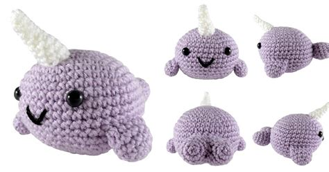 Amigurumi Narwhal Pattern | i crochet things free pattern narwhal amigurumi