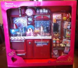 american doll kitchen set nib gourmet kitchen food set for your 18 quot american