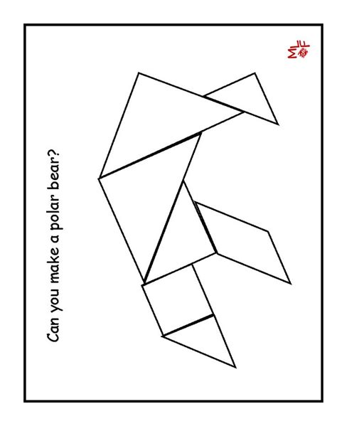 pattern block puzzles 30 best tangrams images on pinterest kids education