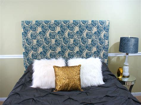 Easy Fabric Headboard by How To Upholster A Headboard For Beginners Hgtv