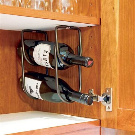 under cabinet wood wine rack under counter wine rack the rack for glass and wood