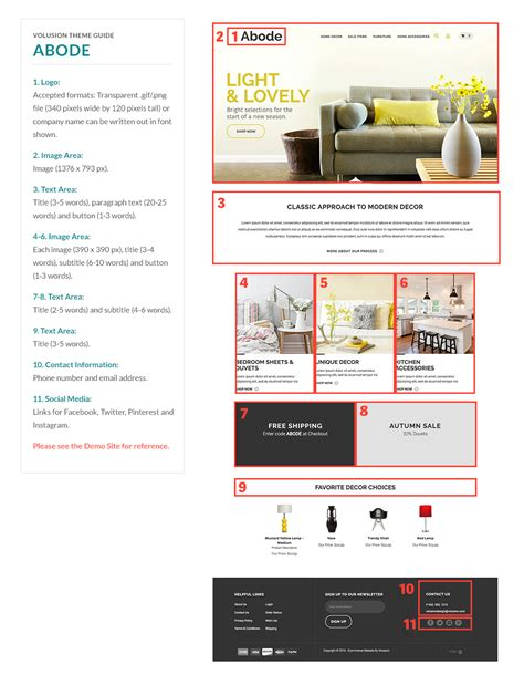 abode ecommerce templates by volusion seo friendly