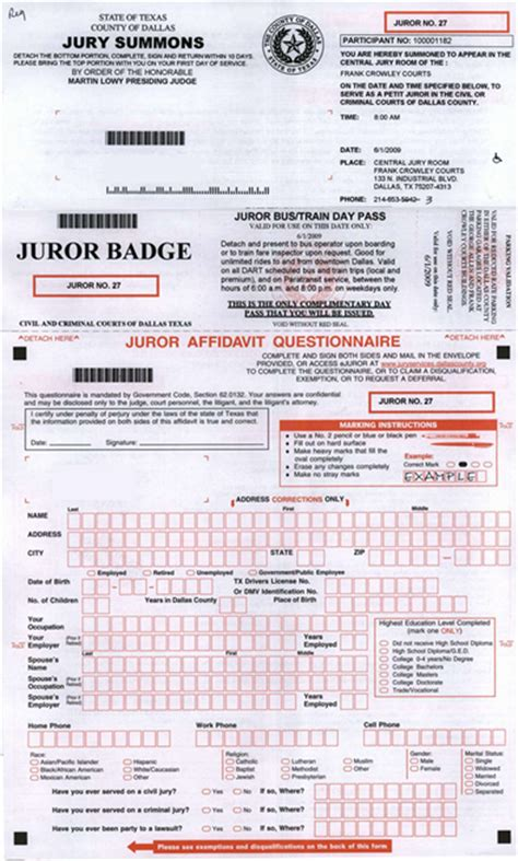 Jury Service Criminal Record Dallas County Jury Services