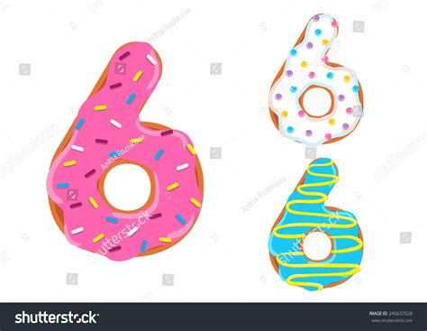 Donuts Number donut numbers pictures to pin on pinsdaddy