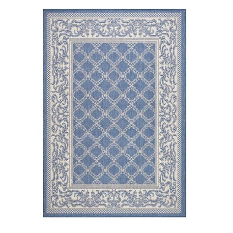 home decorators collection entwined blue chagne 8 ft 6