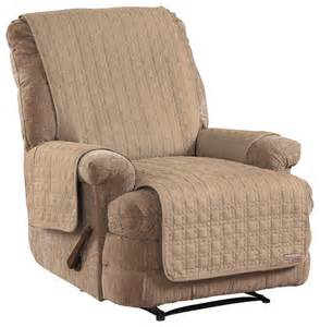 quickcover chaise recliner protector traditional size