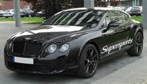 Bentley Continental Supersport Gt File Bentley Continental Gt Supersports Front 20100425 Jpg