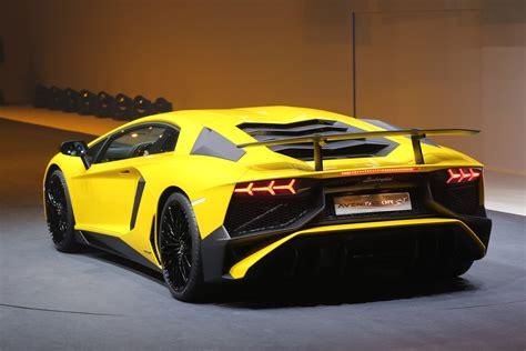 Price For Lamborghini Aventador 2016 Lamborghini Aventador Sv Price Announced Motor