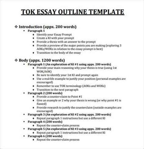 tok presentation template tok essay nov 2013 sle tok essays for may 2013