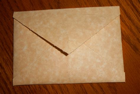 How To Make Parchment Paper - parchment paper envelope