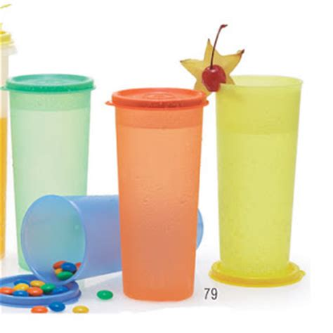 Gelas Tupperware ready stok spesial gelas for healthy living belanja tupperware