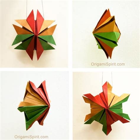 How To Make Paper Snowflake Ornaments - ornaments an origami snowflake