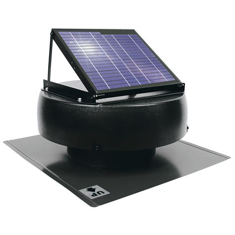 solar powered attic fan us sunlight 1000 cfm 12 watt solar powered attic fan 97329