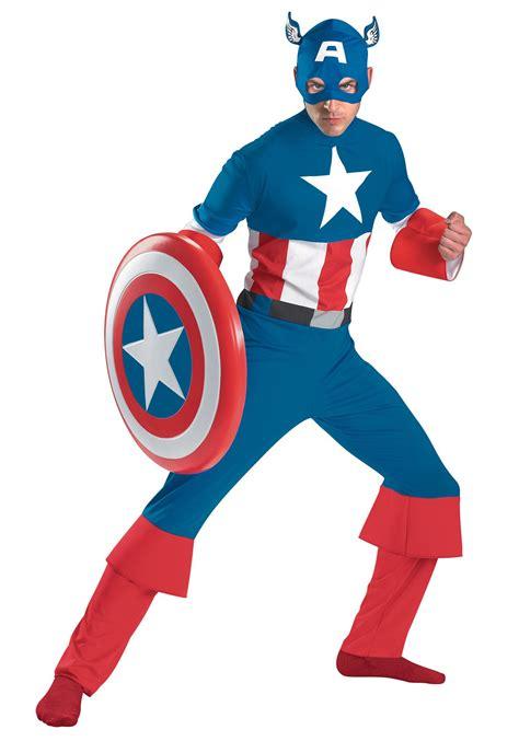 Costum Captain America classic captain america costume
