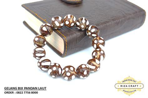Batu Akik Pandan 3 Biji gelang biji pandan laut 16 mm 171 jual gelang tasbih batu