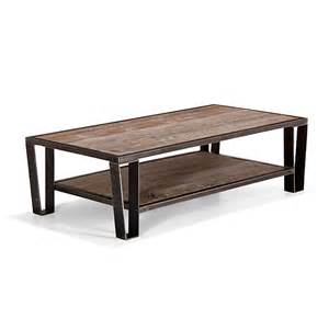 table basse en pin et acier ware tables basses tables