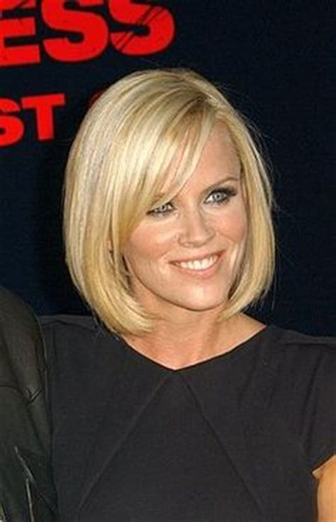 what color is jenny mccarthys hair i 2015 blunt shoulder length bob back view haircut ideas
