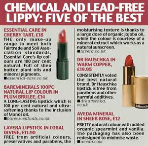 lead free lipsticks 2014 can your lipstick give you heart problems shocking new