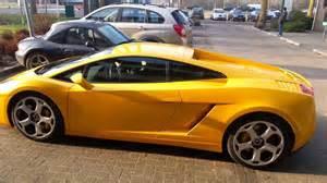 Yellow Lamborghini Gallardo Yellow Lamborghini Gallardo Supercar Sound