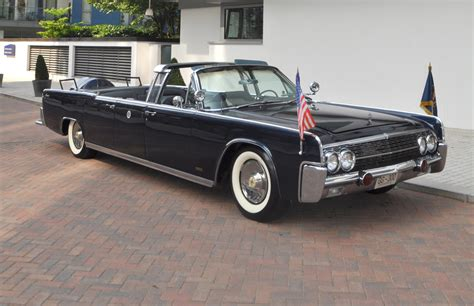 Lincoln Limousine by 1963 Lincoln Continental Limousine Cabriolet Coys Of