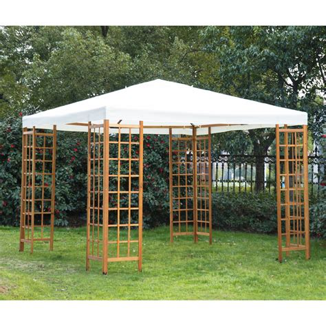 make your own canopy outsunny x outdoor patio canopy pavilion gazebo about this