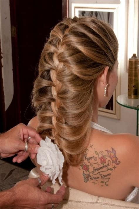 vine braid braided hairstyle for 45 braided wedding hairstyles ideas weddingomania