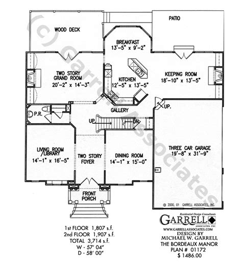 normandy manor house plan classic revival plans bordeaux manor house plan classic revival plans