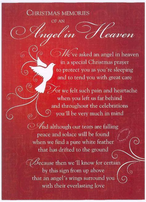 images of christmas in heaven christmas grave card angel in heaven free holderc114 ebay