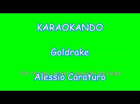 testo goldrake karaoke italiano goldrake alessio caraturo testo