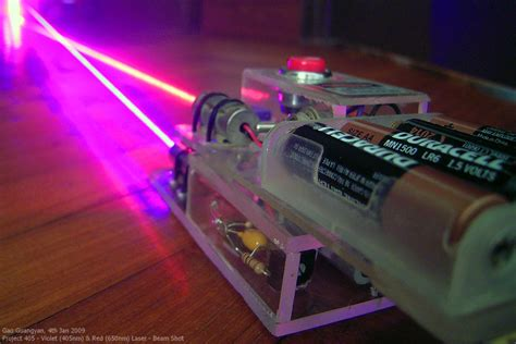violet laser diodes gao guangyan s projects page project 405 the quest for a violet laser