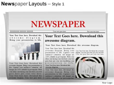 newspaper template for powerpoint newspaper template powerpoint http webdesign14
