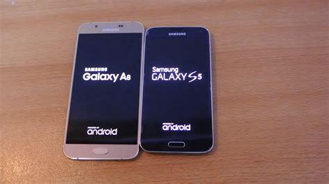 Samsung A8 Vs S5 Samsung Galaxy A8 Vs Galaxy S5 Speed Test Hd