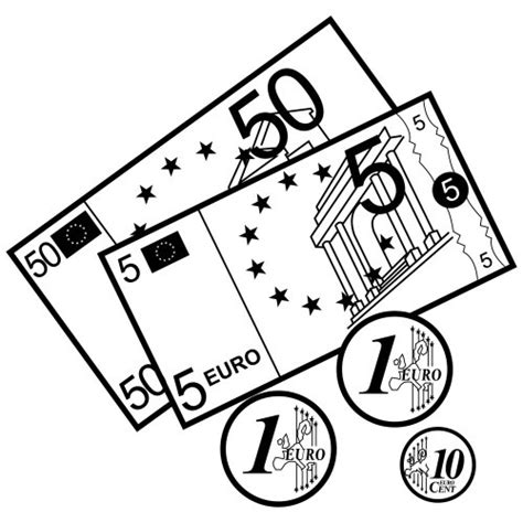 coloring pages euro money coloring pages dollar coloringstar