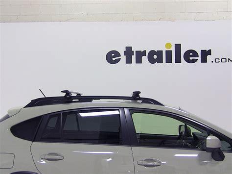 Crosstrek Roof Rack by Thule Roof Rack For Subaru Xv Crosstrek 2014 Etrailer