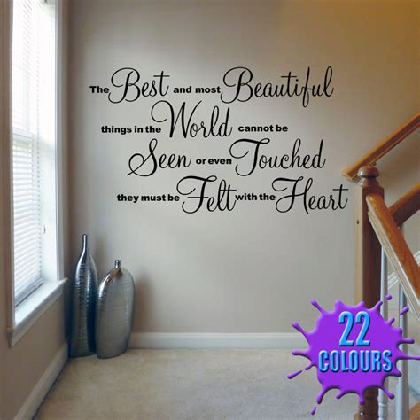 Wall Decal Quotes For Living Room by The Best And Most Beautiful Wall Decal Sticker Quote