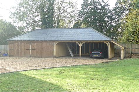 4 car carport 4 bay oak garages and car ports