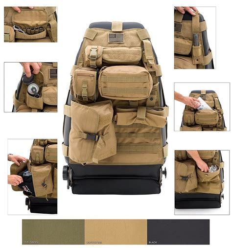 tactical jeep seat covers tactical seat covers will breathe some new military