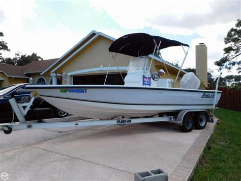 bay boats used 2005 used angler 20 bay boat for sale 15 500 treasure