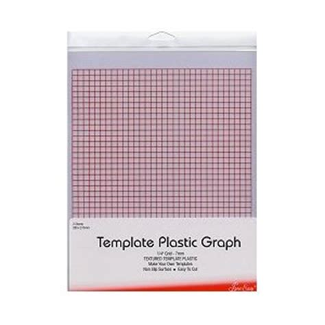 Template Plastic Sheets by Sew Easy Template Plastic Graph Pk Of 2 Sheets 280 X