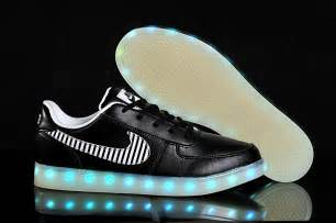 light shoes nike nike air 1 low lights up shoe with leds black for sale