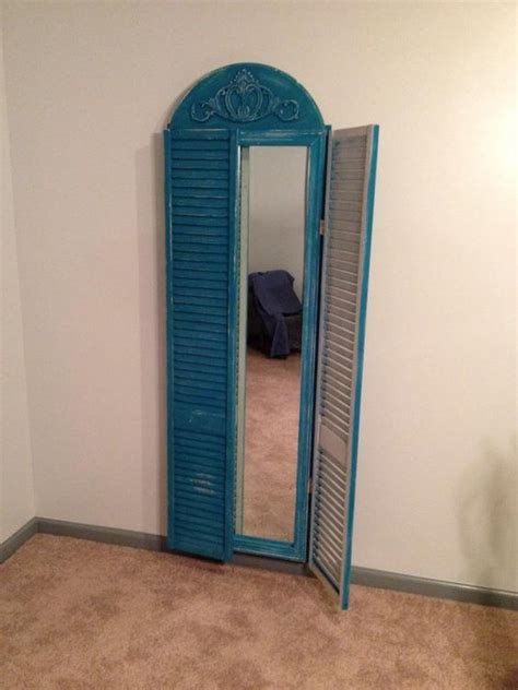 Bifold Closet Doors With Mirrors Length Mirror Made From Repurposed Bi Fold Closet Doors Stuff I M