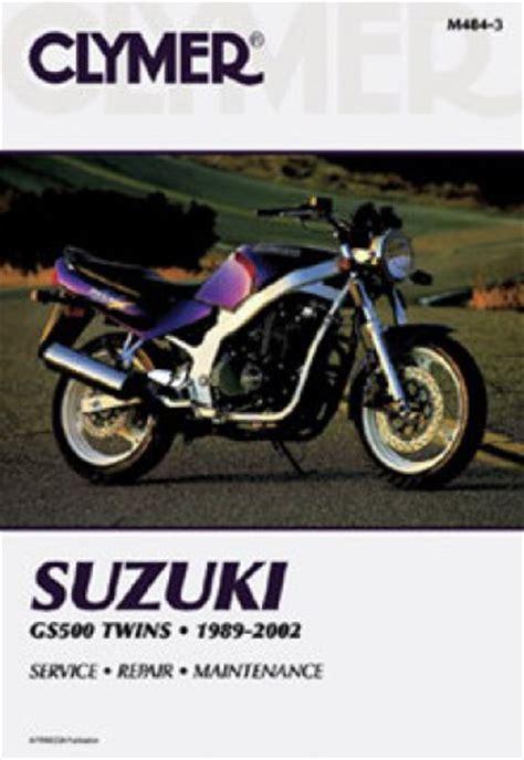 Clymer Suzuki Gs500e Twins 1989 2002 Repair Manual