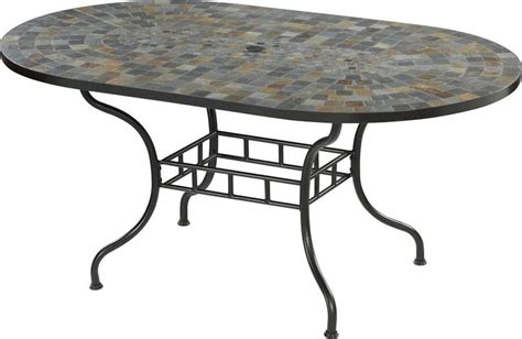 oval dining table long hairstyles home styles stone harbor oval outdoor dining table patio